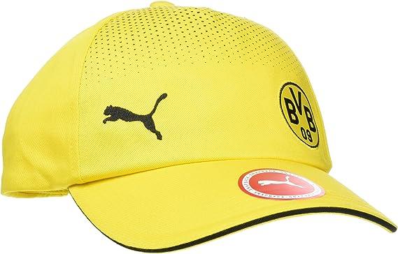 PUMA - BVB - Gorra - Cyber Yellow/Black: Amazon.es: Ropa y accesorios