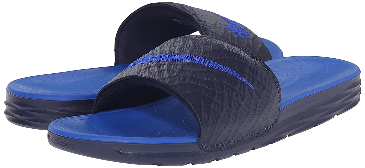 ee7edac394d8 Nike Men s s Benassi Solarsoft Slide 2 Flip Flops  Amazon.co.uk  Shoes    Bags