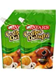 Bayars Coffee Delight Premium - Ready to use liquid Coffee Decoction Pack of 2 (200 ml)