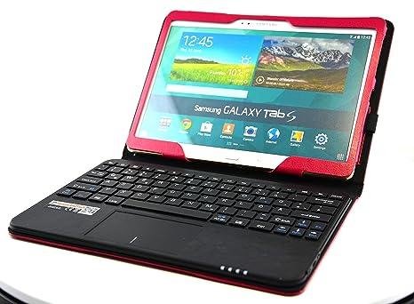 MQ de Galaxy Tab S 10.5 Teclado Bluetooth Funda con Multifunciones de Touchpad   funda con teclado Bluetooth y Touchpad integrado ...