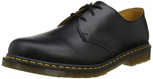 Dr. Martens Men's 1461 Nappa Oxford, Black, 3 UK/4 ...