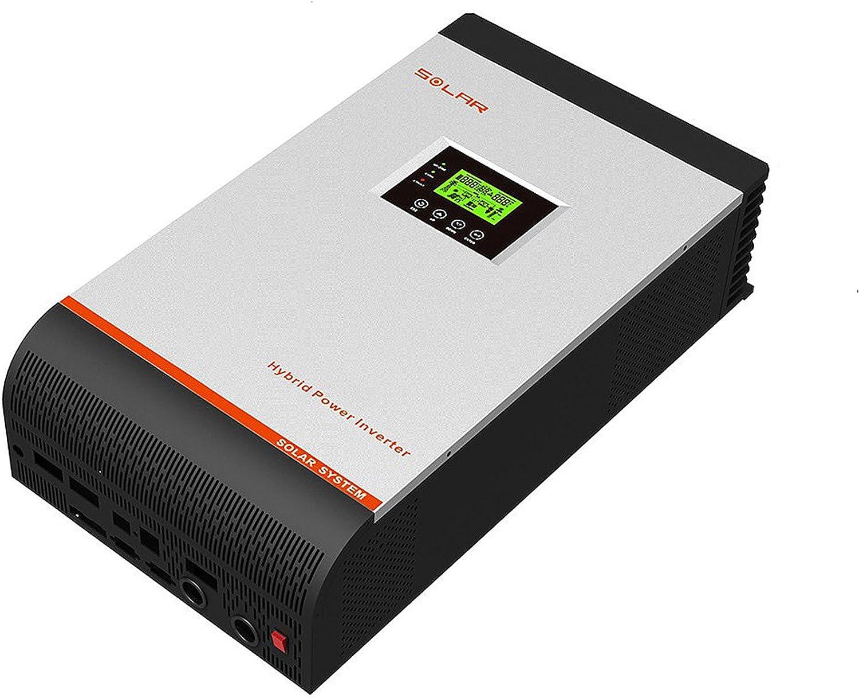 Inversor Onda Pura Hibrido 5Kva 48V Regulador MPPT 80A Cargador 60A Trae rele Arranque automatico y Placa para Instalar en Paralelos