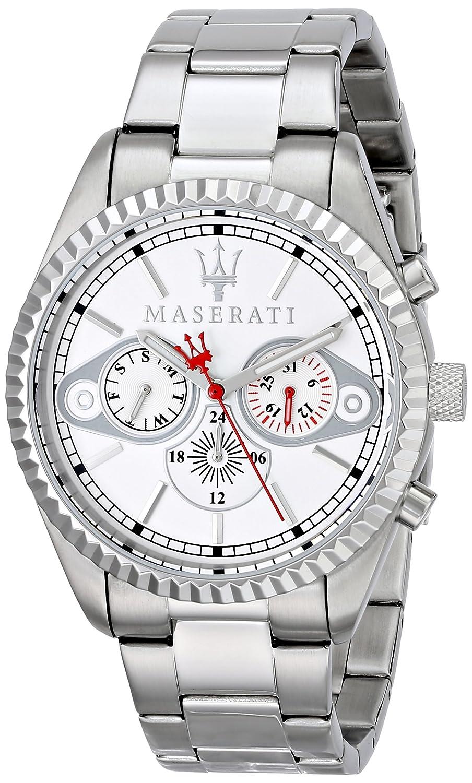 Maserati Herren-Armbanduhr XL Analog Quarz Edelstahl R8853100005