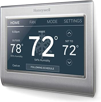geo thermostat wiring diagram honeywell home rth9585wf1004 wi fi smart color thermostat  7 day  rth9585wf1004 wi fi smart color