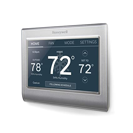 honeywell home wi-fi smart color programmable thermostat, alexa enabled,  (rth9585wf1004) - - amazon com