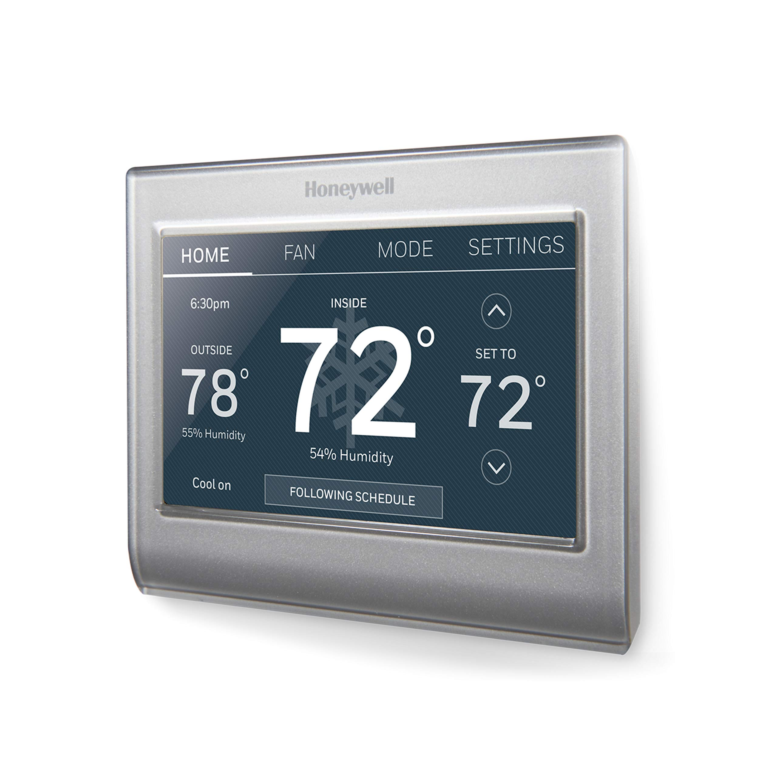 Honeywell Home Wi-Fi Smart Color Programmable Thermostat, Customizable Programming, Alexa and Apple Home Enabled, In-app Programming, Personalized Color Display, Easy Installation, (RTH9585WF1004)