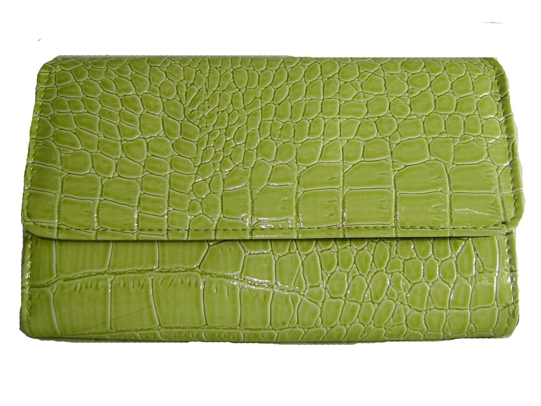 Ladies Green Long Wallet
