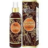 Oriental Botanics Jojoba & Sweet Almond Oil For Hair & Skin - 200ml (No Mineral Oil, Silicon or Paraben)