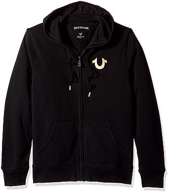 10c63342f True Religion Men s Hooded Sweatshirt  Amazon.co.uk  Clothing