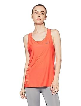 17a75353d Asics Graphic Tank - Camiseta de Tirantes Mujer  Amazon.es  Deportes y aire  libre