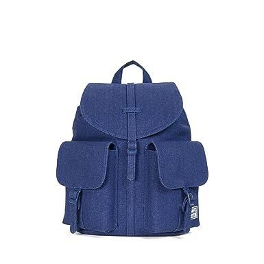 8e92fec8e5dc Amazon.com  Herschel Dawson Womens Backpack Cotton Canvas Blue Depths  Womens One Size  Clothing