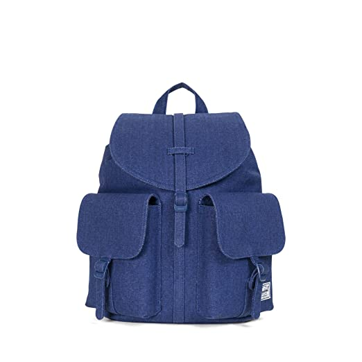 Amazon.com  Herschel Dawson Womens Backpack Cotton Canvas Blue Depths  Womens One Size  Clothing 807365ccb3100