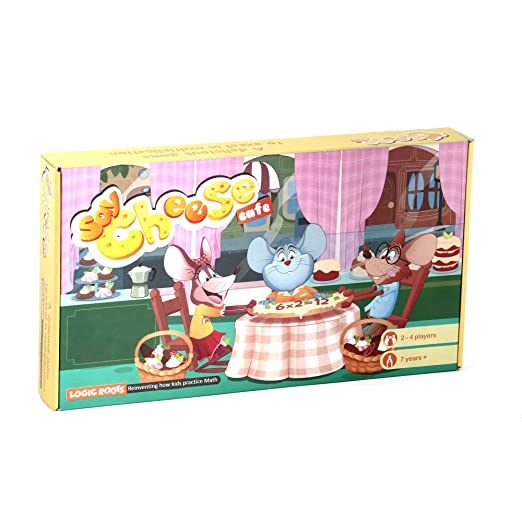 Amazon.com: SAY CHEESE CAFÉ Multiplication tables game STEM toy ...