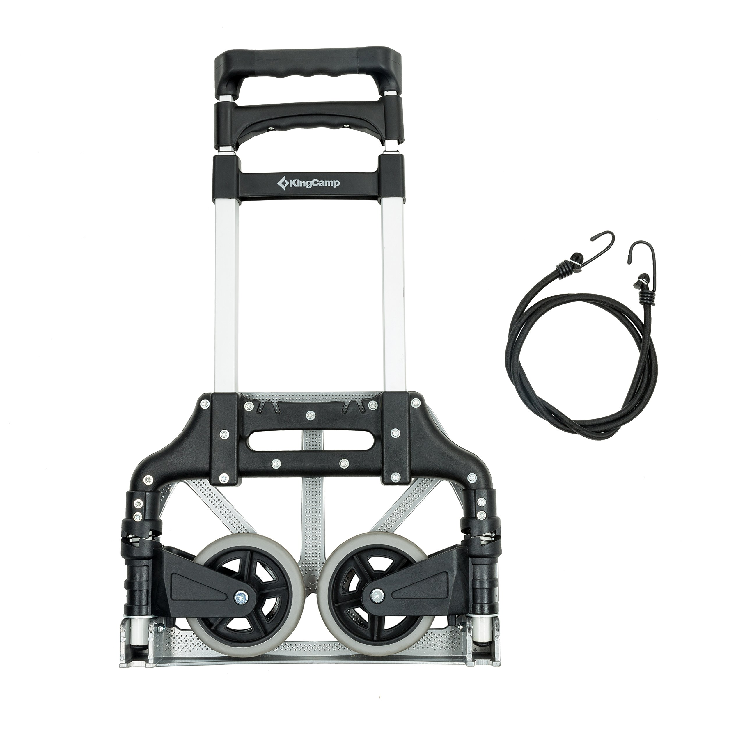 KingCamp Folding Cart 150 lbs Capacity Hand Truck with Bungee Cord by KingCamp (Image #3)