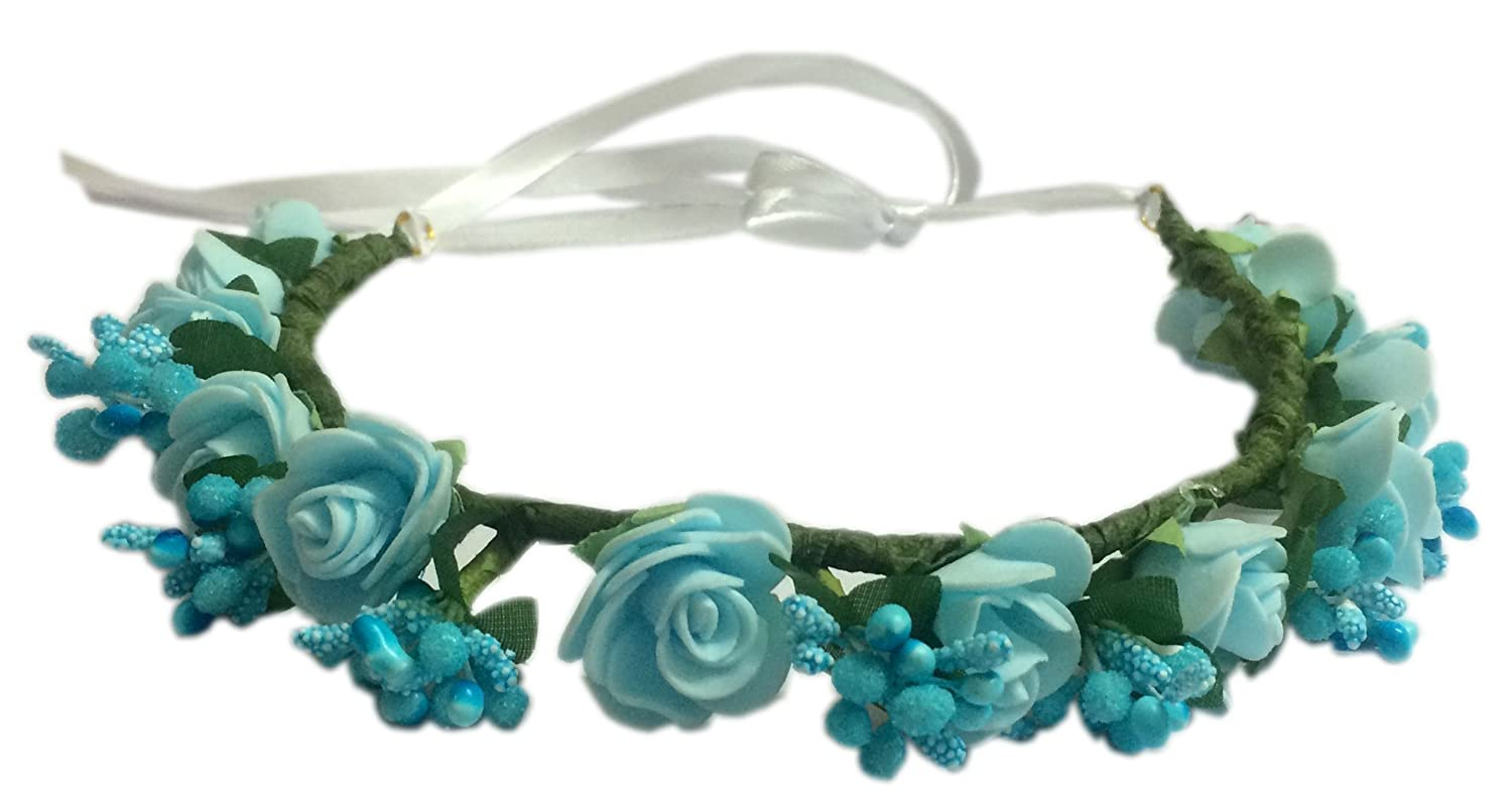Buy Loops N Knots Princess Flora Collection Blue Tiara Crown