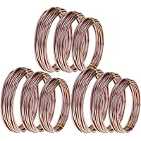 SovelyBoFan 9 Rollos Bonsai Wires Alambre de Entrenamiento