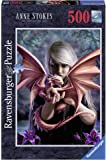 Ravensburger–Jigsaw Puzzle–500Pieces–The Girl With The Dragon–Anne Stokes 14643