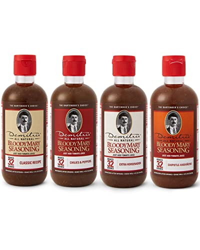 Demitri's Bloody Mary Mixes 8 oz Variety Pack
