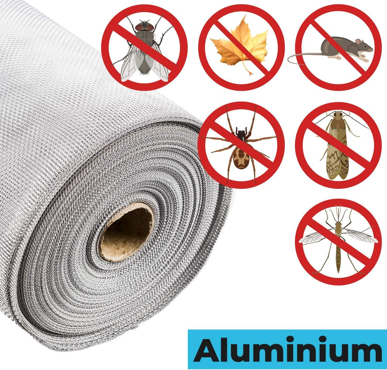 Fliegengitter EDELSTAHL Insektenschutz Fliegengitter Edelstahlgewebe gegen Raten,M/äuse,Fliegen STAHLIA/® EDELSTAHL L x B 200x150 CM