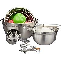 Relaxdays 10024737 Juego de 12 utensilios de cocina