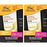 Tiger Balm Neck & Shoulder Rub Vanishing Scent 1.76 oz (Pack of 2)