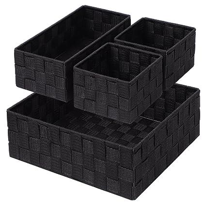 Contenitori per cassetti finest mobili contenitori letto with contenitori per cassetti set due - Guide per cassetti ikea ...
