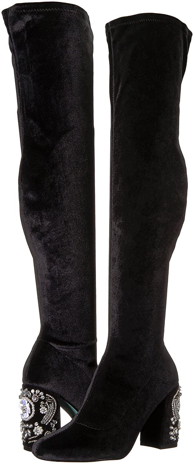 8428fe085ff Blue by Betsey Johnson Women s SB-Gisel Over The Knee Boot