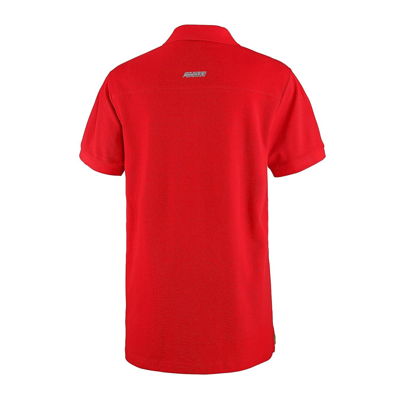 Master Lap Polo Scuderia Ferrari Oficial Rojo S: Amazon.es ...