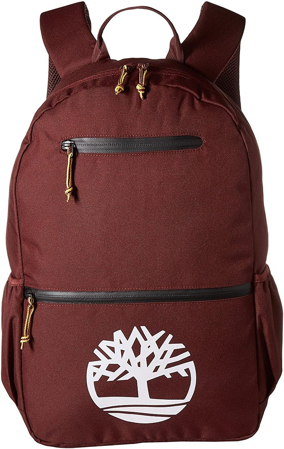 Timberland Tree Logo 28L Backpack Dark Port White Logo One Size