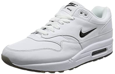 14dd7ea1d3 Amazon.com | NIKE Men Air Max 1 Premium SC White Black 918354-103 ...