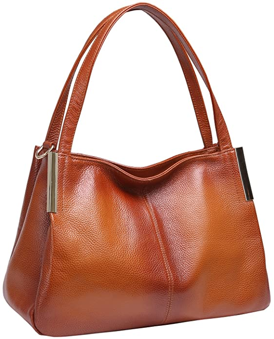 11 Best Women's Leather Shoulder Bags, Genuine, Soft Leather ...