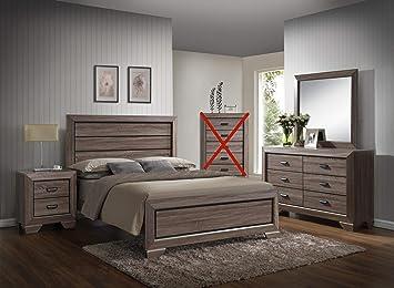 Amazon.com: Farrow Queen Juego de muebles para recá ...