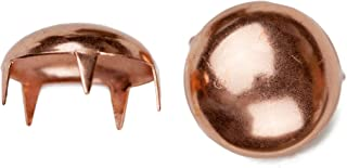 product image for 1003 Pearl Nailhead, Size 60, Solid Brass, Copper Finish, 125 Pieces per Pack