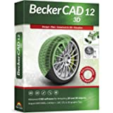 Becker CAD 12 3D - professional CAD software for 2D + 3D design and modelling - for 3 PCs - 100% compatible with AutoCAD