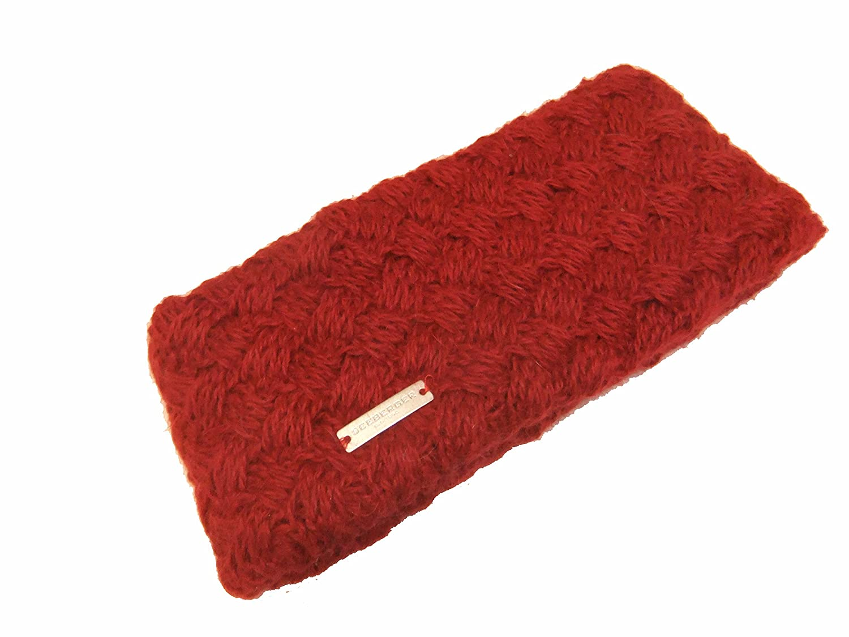 SEEBERGER Cable Knit Stirnband Headband Stirnwärmer Ohrenschutz
