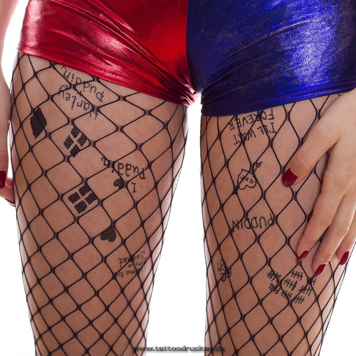 22 Stickers Body Art 1 x HC tatouage arc Temporaire 1 Carnaval Halloween Cosplay