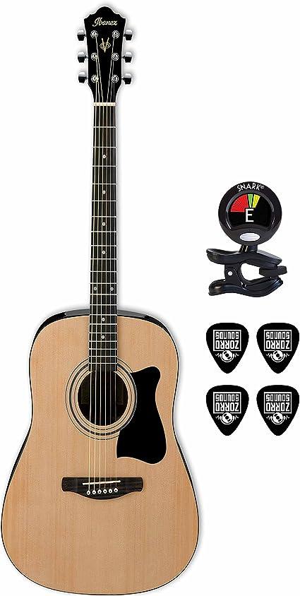 Ibanez Jampack de Inicio rápido 6 Cuerdas Guitarra Acústica con ...