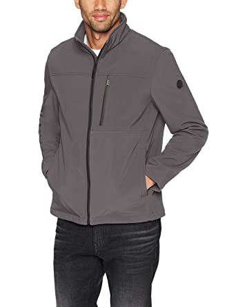 64d4a9adab71 Calvin Klein Men s Soft Shell Jacket with Detail at Amazon Men s ...