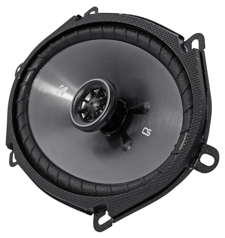 2 Pair Kicker CS Series 6 x 8 Coaxial EVC 2 Way 450 Watt Speakers 43CSC684