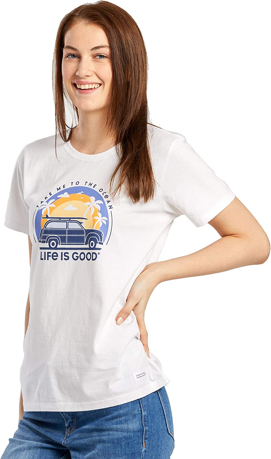 Life is Good Womens Crusher