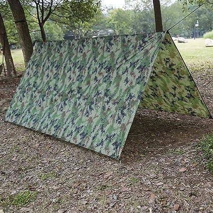Waterproof Camping Tent Tarp Shelter Hammock Cover Lightweight Rain Fly 1M*1.45M