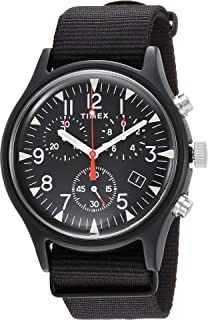 2a3c488f9 Amazon.com: Timex Men's MK1 Aluminum 3-Hand with Reflective Strap ...