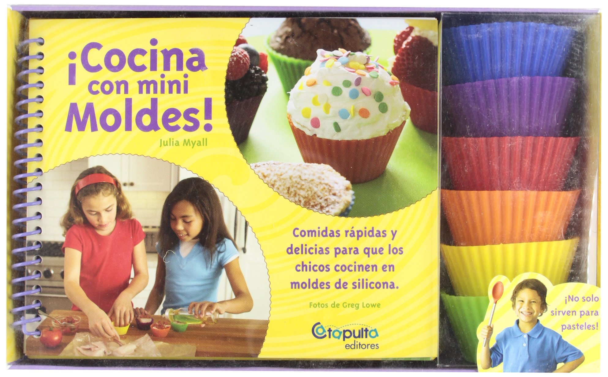 COCINA CON MINI MOLDES (Spanish Edition): v.v.a.a.: 9789876370592: Amazon.com: Books
