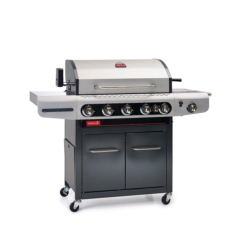 barbecook Gasgrill, Siesta 612, schwarz-grau, 117 x 77 x 52,5 cm, 2239261200