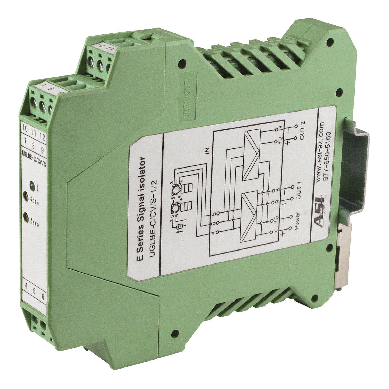 ASI ASI451145 4-20mA Analog Signal Splitter, 3-Way Isolation