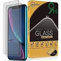 Jasinber 2-Pack Mica Cristal Templado con protección de Sensor FaceID para iPhone 11 / XR (6.1 Pulgadas)