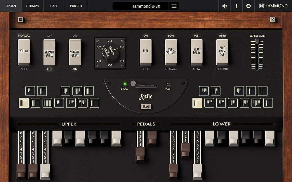 Hammond B-3X:トーンホイール