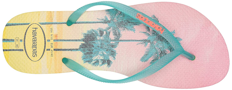 Havaianas Womens Slim Paisage Flip-Flop