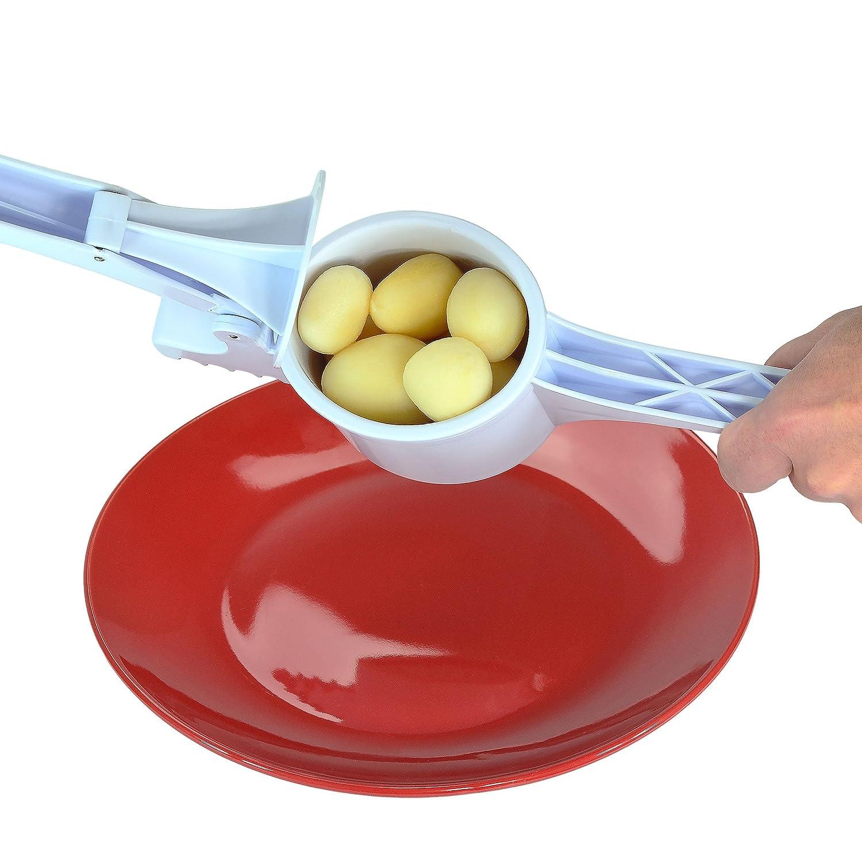 Southern Homewares SH-10179 2 in 1 Potato Ricer Vegetable Fruit Garlic Press Potato Masher Kitchen Utensil
