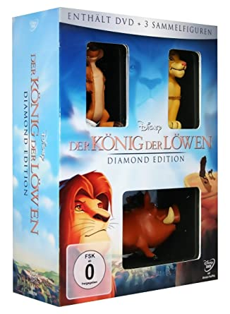 Der König der Löwen (Diamond Edition, + Sammelfiguren) [Alemania] [DVD